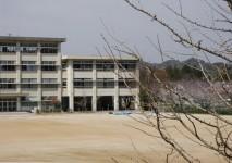 西部中学校約1510m