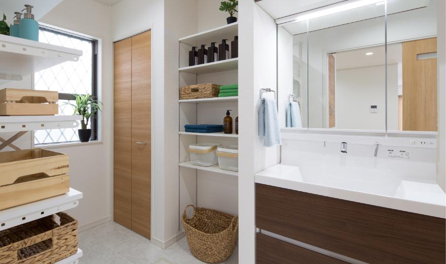 洗面室収納