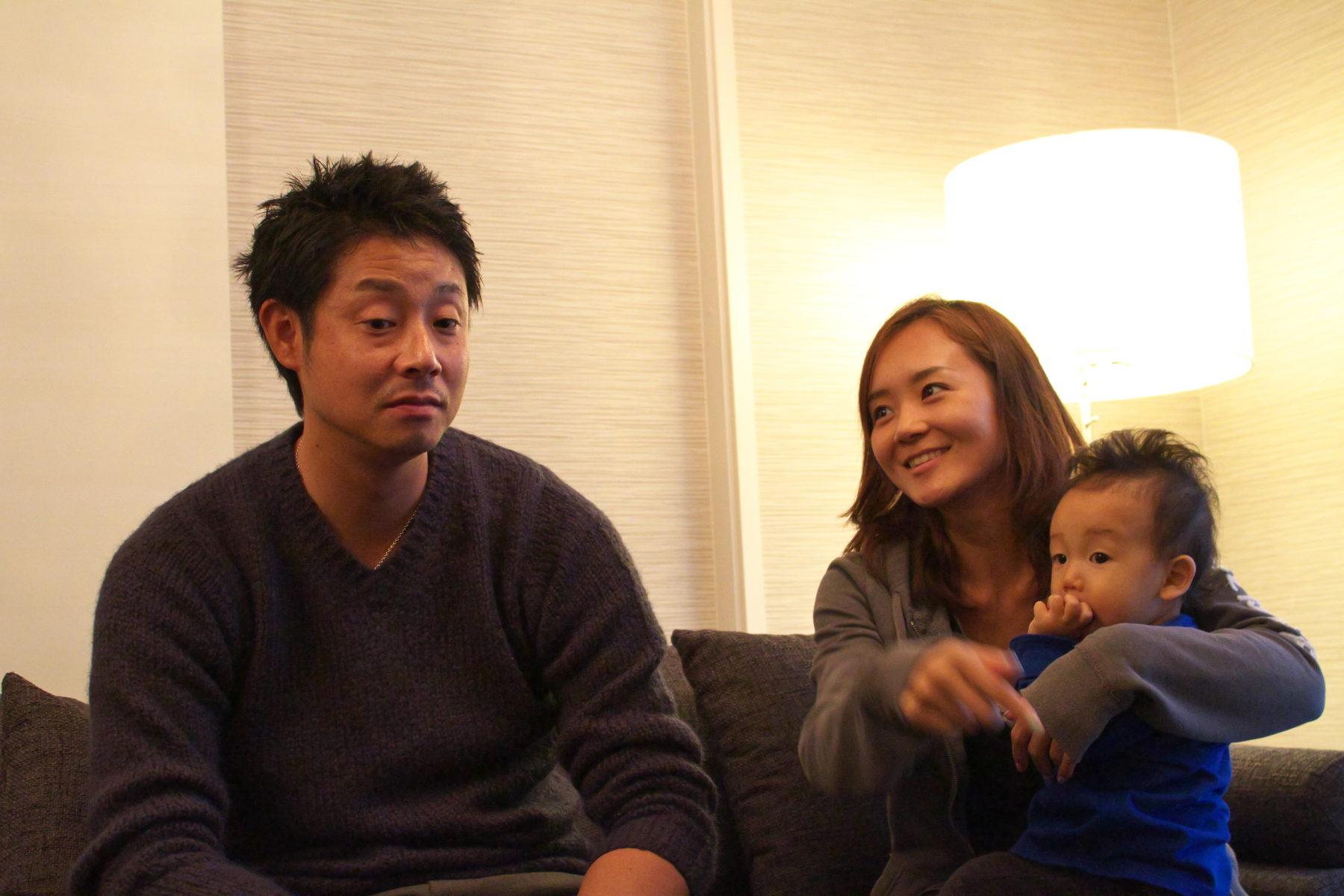 家族との大切な空間「インテリアが映える広々リビング」